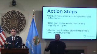 Stitt announces actions to help limit spread of COVID-19