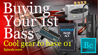 Bass guitar gear to have, just in case!