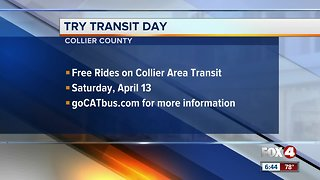 Free transit rides in Collier County