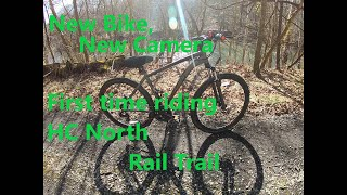 Outdoor Adventures 2020 new Bike and First Rail Trail