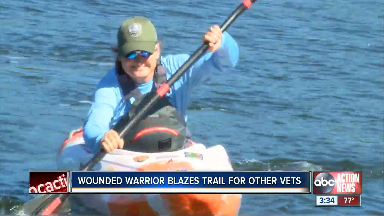 Blind Army veteran has new outlook on life with kayaking