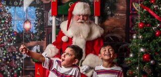 Santa visits this winter will be different with COVID-19