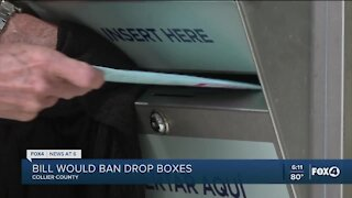 New bill would ban ballot drop boxes, and add new voting restrictions
