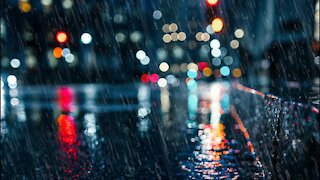 Gentle Night Rain for Sleeping   Relaxing   Meditation   Study   Ambient Background