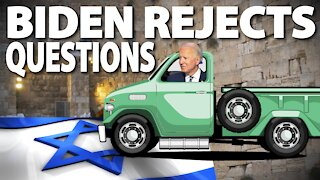 OBiden Want To Run Reporter Over Israel Question