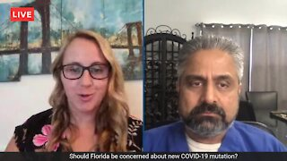 Should Florida be concerned about new COVID-19 mutation?