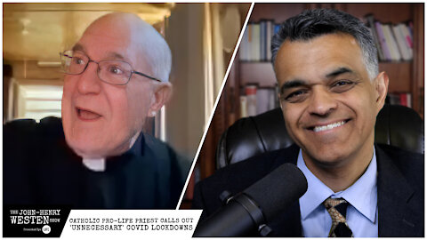 Catholic pro-life priest once silenced by bishops now calls out 'unnecessary' COVID lockdowns