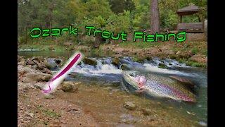 Ozark trout Fishing
