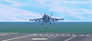 CRAZIEST F-18 TAKE OFF EVER!!!!!!!!-FULL AFTER BURNER