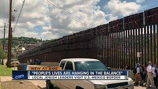 Local Jewish leaders visit the U.S.-Mexico border
