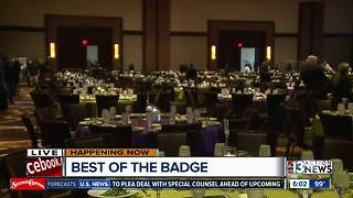 Best of the Badge gala honors local police officers