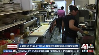 Various stay-at-home orders causing confusion in Kansas City metro