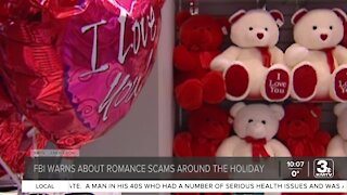 FBI warns about romance scams around the holiday