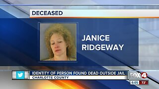 Deceased person found at Charlotte County Jail identified