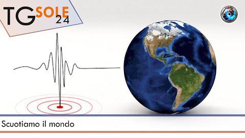 TgSole24 - 13 ottobre 2021 - Scuotiamo il mondo
