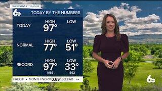 Rachel Garceau's Idaho News 6 forecast 6/2/21