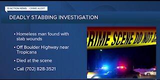 Las Vegas police seek information on deadly stabbing