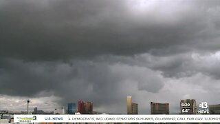 Timelapse: Cloud coverage over Las Vegas Strip