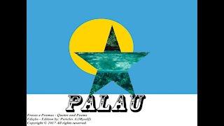 Bandeiras e fotos dos países do mundo: Palau [Frases e Poemas]