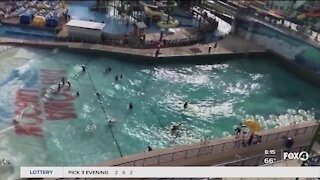 Florida water parks reopen with limited capacity