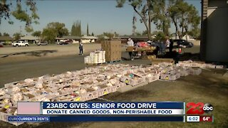 23ABC Senior food drive accepting donations throughout March