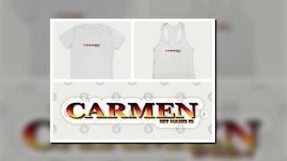 CARMEN. MY NAME IS CARMEN. SAMER BRASIL (TEEPUBLIC)