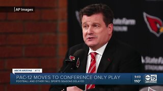 Arizona Cardinals owner Michael Bidwill hospitalized due to COVID-19
