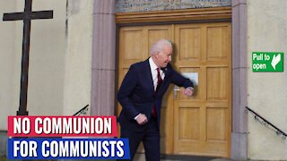 70% of church-going Catholics are opposed to giving Holy Communion to Joe Biden