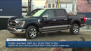 Ford begins production on new F-150, breaks ground on center to build all-electric truck