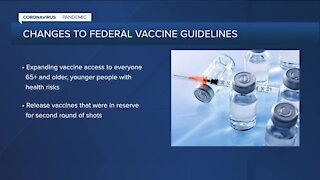 CDC expands vaccination guidelines