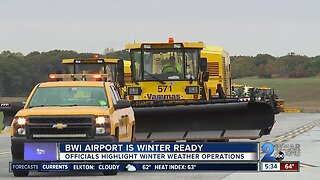 BWI Airport prepares for the winter with weather operations