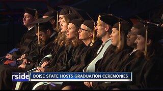 Boise State graduates attend commencement ceremony