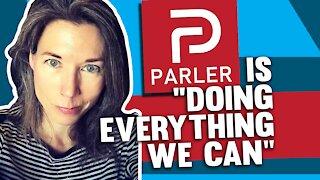 Parler exec speaks out against 'unfair' Big Tech throttle