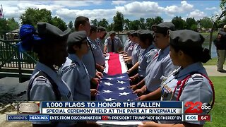 1000 Flags: Honoring our fallen service members