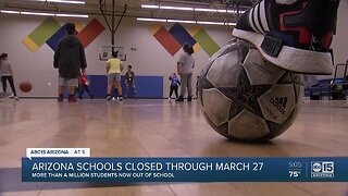 Arizona schools closed through March 27