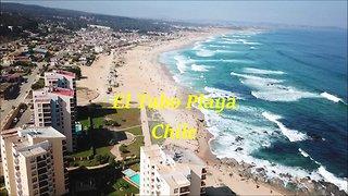 El tabo Beach in Chile