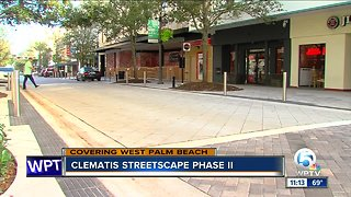 Clematis Streetscape set to undergo phase II