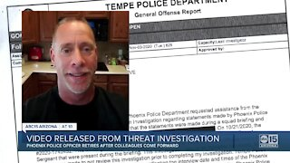 Video released from threat investigation