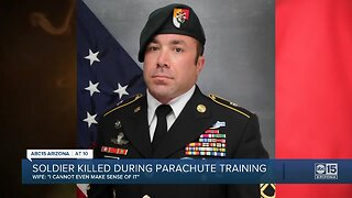A hero lost, and remembered after being killed during parachute training