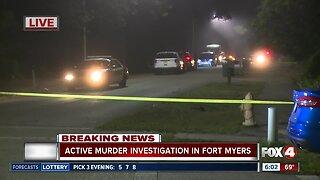 Police investigating murder on Franklin Street in Fort Myers