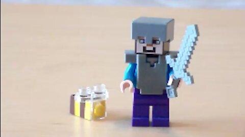 Lego Minecraft Bee Tutorial
