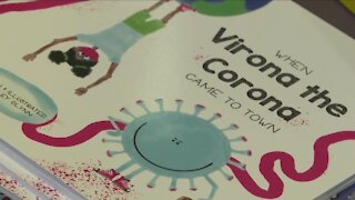 Buffalo first grade teacher wrote a book to help kids cope with COVID