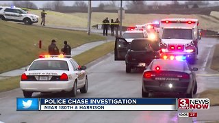 One dead after police chase ends near 180th and Harrison