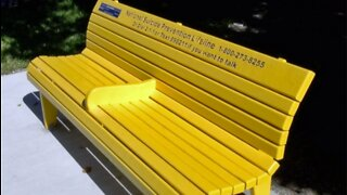 Group uses benches to promote suicide prevention and awareness
