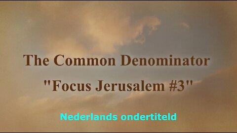 Focus Jerusalem - Week 3, 27/05/2021 - Nederlands ondertiteld