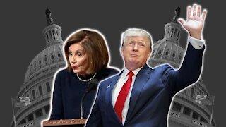 Nancy Pelosi Holding Impeachment