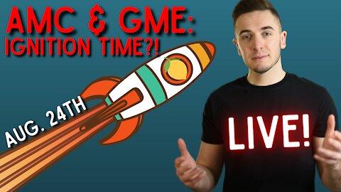 Ep. 50 AMC & GameStop 💎🙌: IGNITION TIME?!?!    Dumb Money: Moon Stocks & Crypto