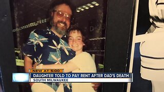 South Milwaukee daughter told to pay father's rent after his death