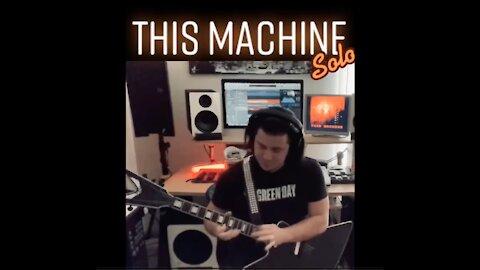 FATAL CONCEIT - THIS MACHINE GUITAR SOLO PLAYTHROUGH