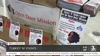 Open Door Mission, HyVee helping those in need for Thanksgiving